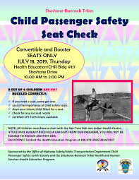 Car Seat Chart Thhs Child Car Seat Giveaway Shoshone Bannock Tribes