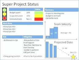 status update template word project report format in excel for bank loan status update template