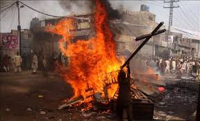 Image result for muslim burning christians