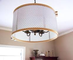 chandelier drum shades marvelous chandelier drum shades plastic casing with hanging lights burlap chandelier drum shades