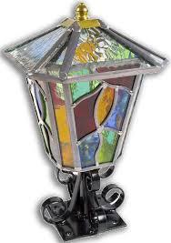 chepstow multi colured pedestal lantern 14ped mc jpg