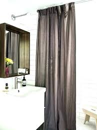 ceiling to floor curtains how to hang