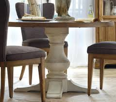 round pedestal kitchen table base small oval