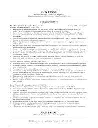 ricky fasoli resume jan 2010 - Walmart Resume