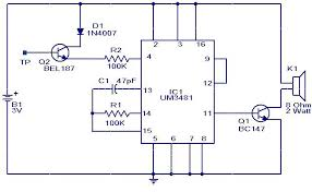 touch doorbell circuit & doorbell wiring diagram tutorial diagrams Doorbell Wiring Code Free Download Diagrams Pictures touch musical bell circuit schematic Free Auto Electrical Wiring Diagrams