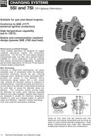 electrical specifications & selection Delco Remy Alternator Wiring Diagram For 31si