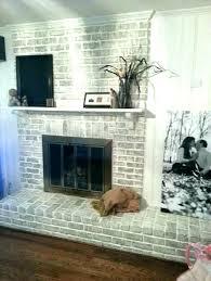 reface brick fireplace modern rustic fireplace refacing brick fireplace ideas painted brick fireplace modern rustic painted