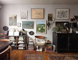 apartment furniture nyc. The Main Living Area Of Ann Stephenson And Lori Scacco\u0027s East Village Studio, Filled With Apartment Furniture Nyc