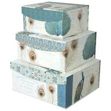 Decorative Holiday Boxes Decorative Gift Boxes Storage Organizer With Magnetic Lids Set Of 95