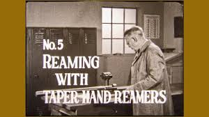 Taper Reamer Size Chart Reaming With Taper Hand Reamers