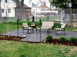 simple patio designs with pavers. Lush Backyard Paver Patio Outdoor Building Ideas Best Simple Laying Pavers For A Spaces Decor Designs With