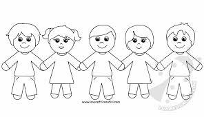 Disegni Di Bambini Che Si Tengono Per Mano Lavoretti Creativi
