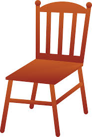 wooden chair clipart. Contemporary Wooden Wooden Chair Intended Clipart