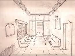 bathroom interior design sketches. Endearing Draw Interior Design 7 Perspective Drawing 58 . Surprising Bathroom Sketches