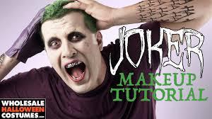 freakishly easy squad joker makeup tutorial