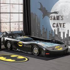 DC Comics Batman Batmobile Twin Bed - Black