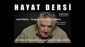 Uruguay Eski Devlet Başkanı Jose Mujica'dan kısa hayat dersi #HayatDersi    Hayat, Uruguay, Devlet başkanı