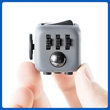 fidget cube ceavis creative 6 sides dice anti anxiety and depression toys for boys children s gifts fidget cube black grey