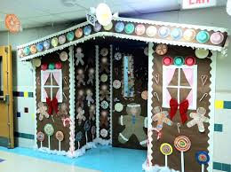 christmas office themes. Decorating Ideas For An Office Factory Door Contest Cubicle Christmas Decoration Themes C O