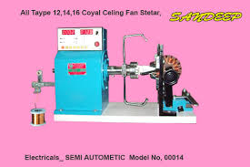 ceiling fan winding machine 001550