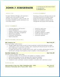 Basic Sample Resume Format Inspiration Example Of A Resume Format Unique Example Resume Format 48 R 48