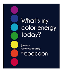 Which energetic color effects is each colour supposed to possess?