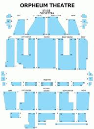 Orpheum Boston Seating Chart Orpheum Shn Seating Chart Www Bedowntowndaytona Com