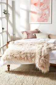 Urban Outfitters Room Urban Outfitters Tipped Faux Fur Throw Blanket Diy Urban  Outfitters Inspired Room Decor