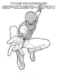 The Amazing Spider Man Coloring Sheets Amazing Spider Man 2