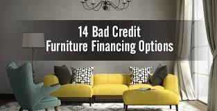 Bad Credit Furniture Financing line