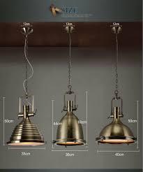 modern decorative vintage loft copper industrial metal hanging lamp for pendant light decor 15