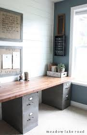 office desk blueprints. Diy Home Office Desk DIY Industrial Farmhouse E  Contemporary Ideas Office Desk Blueprints
