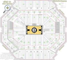 Barclays Center Seating Chart For Disney On Ice Barclays Center Brooklyn Nets Concerts Seat Numbers Detailed
