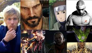 Who knew? Troy Baker, Yamato's voice actor, voices all of these characters.  : Naruto