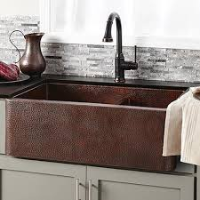 ... Sinks, Copper Sink Home Depot Copper Farmhouse Sink Lowes Awesome  Design Good Antique Cool: ...