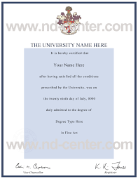 College Degree Certificate Sample Styleta Org