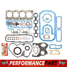 isuzu diesel engines engine full gasket set 92 94 isuzu npr truck 4bd2 t turbo diesel 350