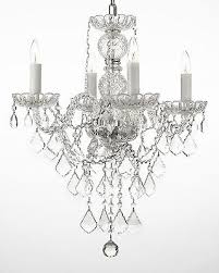 authentic all crystal chandelier chandeliers lighting h22 x