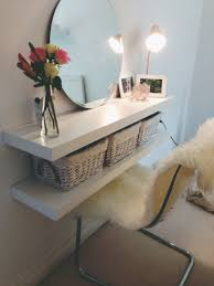 Makeup vanity, perfect for small space!