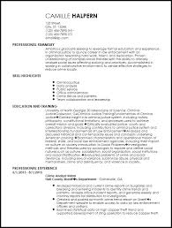 Entry Level Resume Template Free Creative Resume Templates Entry Level Resume Entry Level Resume