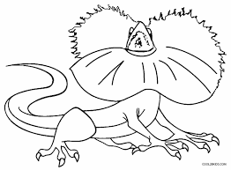 Small Picture cloringpages Printable Lizard Coloring Pages For Kids