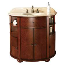 OXFORD Bathroom Vanity Dark Oak  Bathroom Vanities  Bath - Oak bathroom vanity cabinets