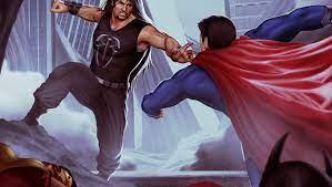 Roman Reigns Vs Superman Art Laptop HD ...