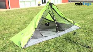 nemo meta 1p trekking pole tent forget the poles with this lightweight spacious 1 person tent you