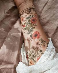 The Most Personalized Tattoo Design For Flowers Beautiful Life