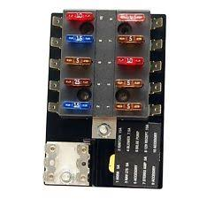 fuse block standard 10 position boat fuse block panel 1032840