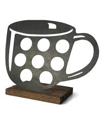love this 8 coffee cup k cup holder