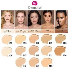 How To Choose Dermacol Foundation Shades Celebs Fashion Mag