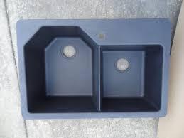 gracier bay hm20rzsk dual mount composite granite 33 in 1 hole double basin kit