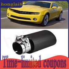 honglai8 <b>Carbon Fiber</b> Style Car Modified Single Outlet Exhaust ...